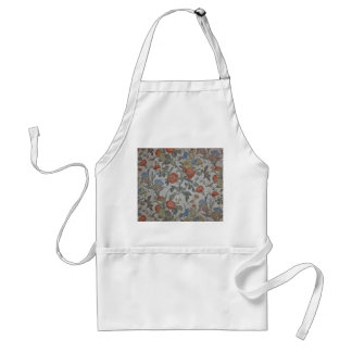 Flowered Wallpaper Apron