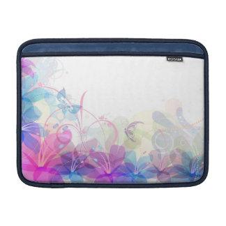 Flowerful Butterfly Abstract Laptop Sleeve-MacBook MacBook Sleeve