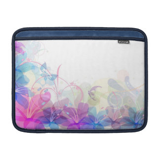 Flowerful Butterfly Abstract Laptop Sleeve-MacBook Sleeves For MacBook Air