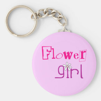 Flowergirl Favors Key Chain