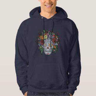 Flowerhair Sugar Skull Hooded Sweatshirts