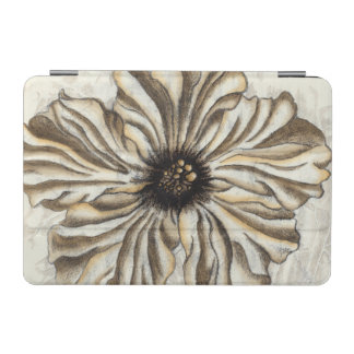 Flowerhead Fresco on Tan Background iPad Mini Cover