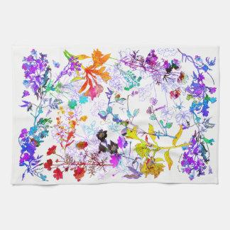 Floweries Hand Towels