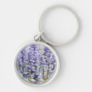 Flowering Ajuga  Keychain