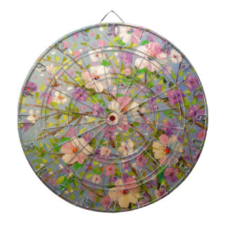 Flowering Apple Dartboard