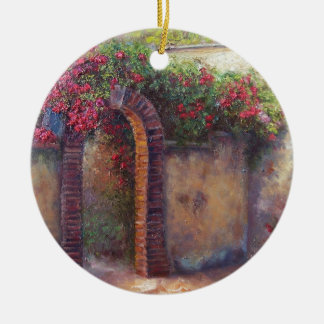 flowering arch christmas ornament