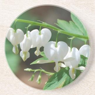 Flowering Bleeding Heart Coaster
