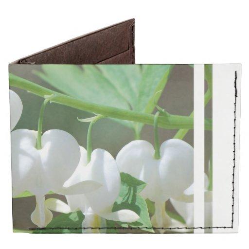 Flowering Bleeding Heart Billfold Wallet