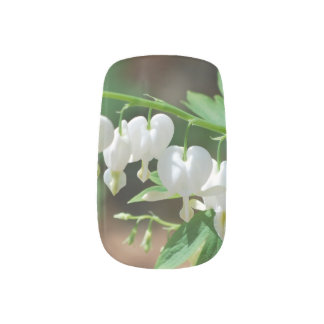 Flowering Bleeding Heart Minx ® Nail Art
