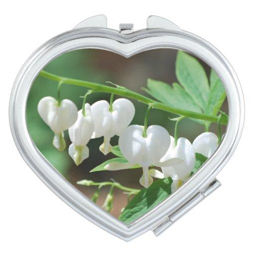 Flowering Bleeding Heart Vanity Mirrors