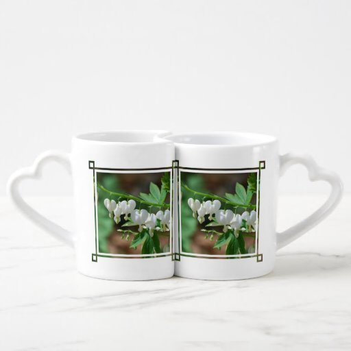 Flowering Bleeding Heart Lovers Mug Set