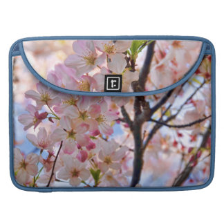 Flowering Cherry Blossom Tree Rickshaw Flap Sleeve Sleeves For MacBooks