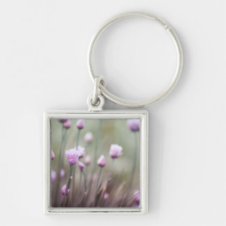 Flowering chives II Keychain