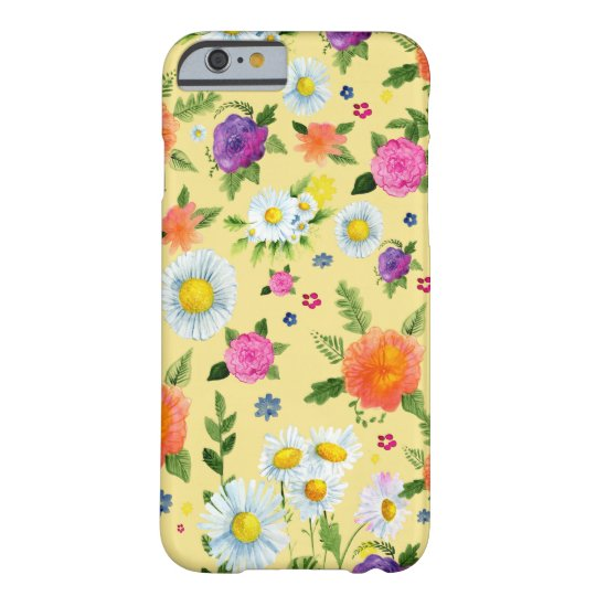 Flowering Daisy Time Barely There iPhone 6 Case
