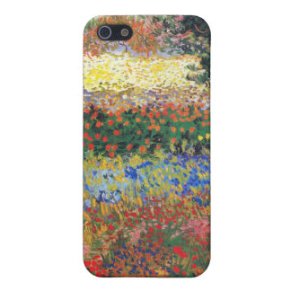 FLowering Garden, Vincent Van Gogh iPhone 5 Cases