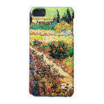 Flowering Garden with Path by Vincent van Gogh iPod Touch (5th Generation) Covers