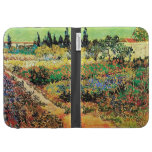 Flowering Garden with Path, Vincent van Gogh Case For The Kindle