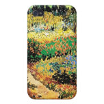 Flowering Garden with Path, Vincent van Gogh Cover For iPhone 4