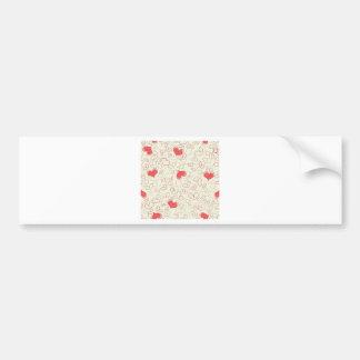 Flowering Hearts Bumper Sticker
