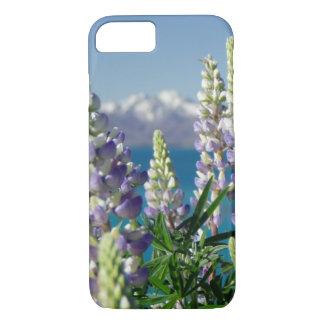 Flowering Lupine New Zealand Landscape iPhone 7 Case