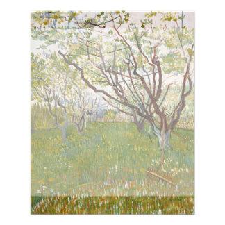 Flowering Orchard by Vincent Van Gogh 11.5 Cm X 14 Cm Flyer