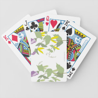 Flowering Pea Plants Bicycle Playing Cards