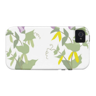 Flowering Pea Plants Case For The iPhone 4