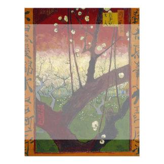 Flowering Plum Tree by Vincent Van Gogh Flyer