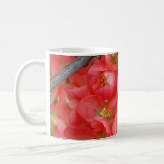Flowering Quince Classic White Coffee Mug