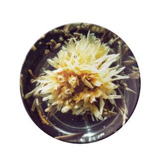 Flowering Tea Decorative porcelain plate