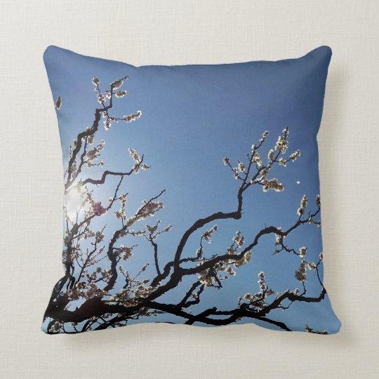 Flowering Tree Branch Cushion