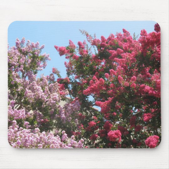 flowering trees mouse mat