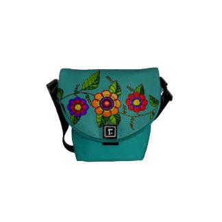 Flowering Vine Courier Bag