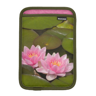 Flowering water lilies iPad mini sleeve