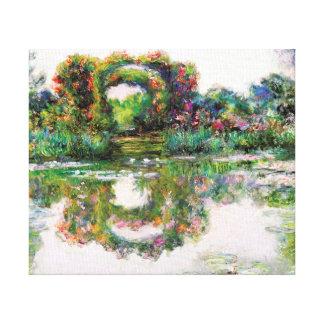 FloweringArches Giverny Claude Monet Impressionism Gallery Wrap Canvas