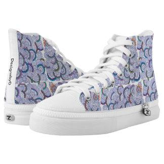 flowerlage printed shoes
