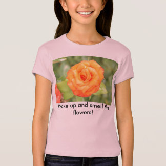 flowerphotos 109, Wake up and smell the flowers! T-Shirt