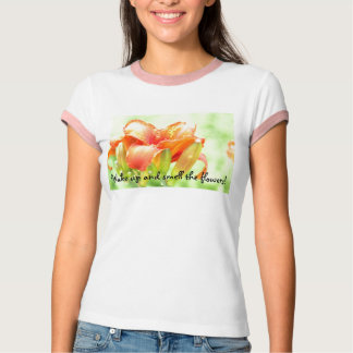 flowerphotos 145, Wake up and smell the flowers! T-Shirt