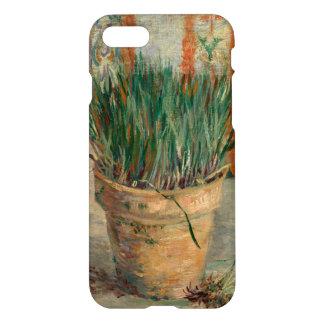 Flowerpot with Chives, Vincent van Gogh Fine Art iPhone 7 Case