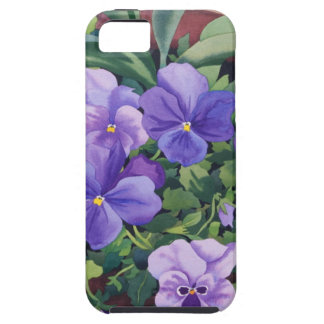 Flowerpots with Pansies 2007 iPhone 5 Covers
