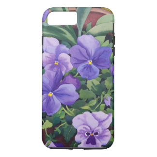 Flowerpots with Pansies 2007 iPhone 8 Plus/7 Plus Case