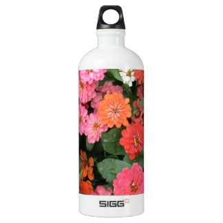 Flowers 15 framed version, colorful flowers bloomi SIGG traveller 1.0L water bottle