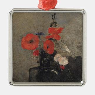 Flowers, 1857 christmas ornament