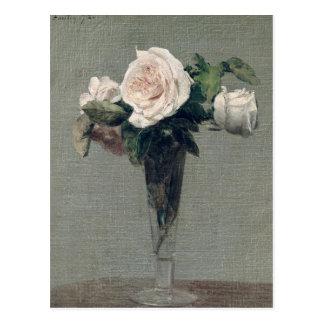 Flowers, 1872 postcard