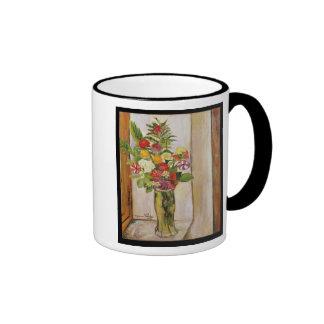 Flowers, 1929 ringer mug