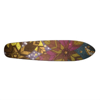Flowers 20 Cm Skateboard Deck