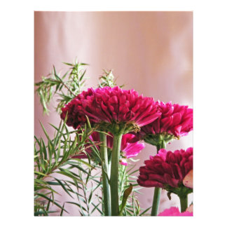 Flowers 21.5 Cm X 28 Cm Flyer
