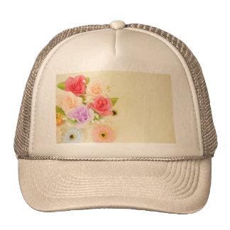 flowers-342299  flowers artificial flowers orange trucker hat