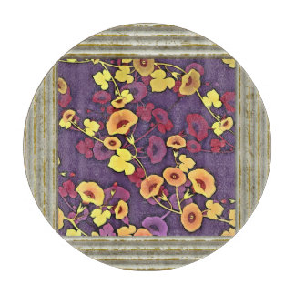 Flowers Abstract Cutting Board