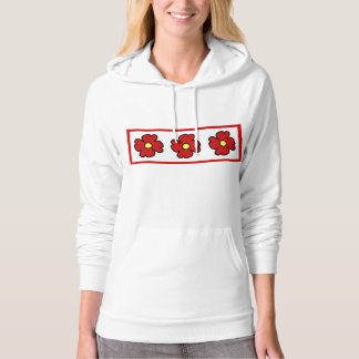 Flowers Abstract Hoody